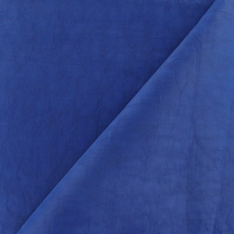 Water-repellent Softshell fabric ? Azure blue x 10cm