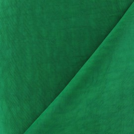Water-repellent Softshell fabric ? Lawn green x 10cm