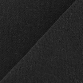 Heavy Viscose Fabric - Black x 10cm