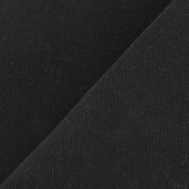 Tissu Viscose Lourde noir x 10cm