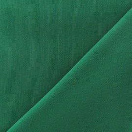 Heavy Viscose Fabric - Green x 10cm