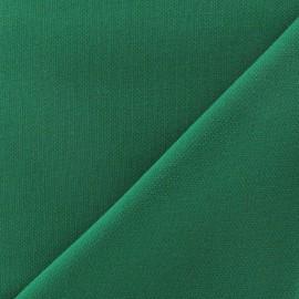 Tissu Viscose Lourde vert x 10cm