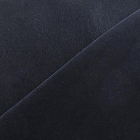 Short velvet fabric - night blue x 10cm