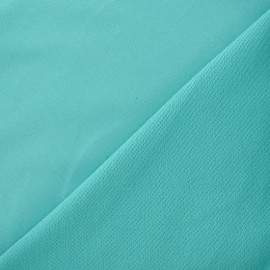 Jogging Jersey Fabric - Frozen Mint x 10cm