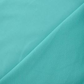 Tissu sweat léger Uni - menthe glacée x 10cm