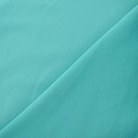 Tissu jogging menthe glacée x 10cm