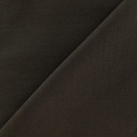 Cotton Canvas Fabric - CANAVAS Brown x 10cm