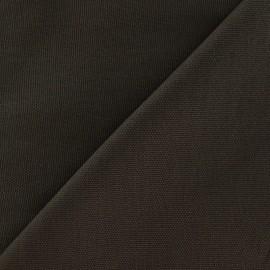 Tissu toile de coton uni CANEVAS Marron x 10cm