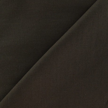 Cotton Canvas Fabric - CANAVAS Brown