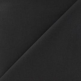 Tissu toile de coton uni CANEVAS Gris x 10cm