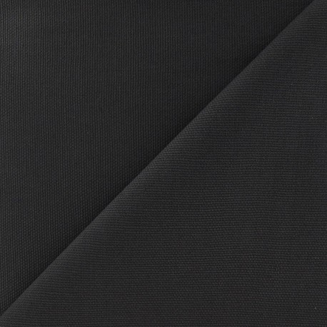 Tissu toile de coton uni Grège x 10cm