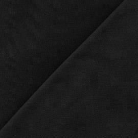 Cotton Canvas Fabric - CANAVAS Black x 10cm