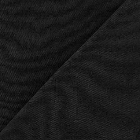 Cotton Canvas Fabric - CANAVAS Black x 10cm