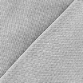 Cotton Canvas Fabric - CANAVAS Mouse Grey x 10cm
