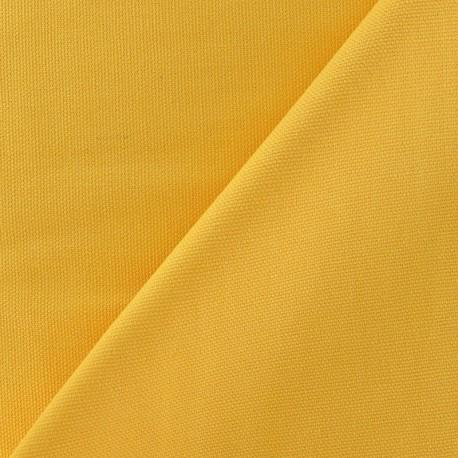 Cotton Canvas Fabric - CANAVAS Yellow x 10cm