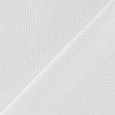 Cotton Canvas Fabric - CANAVAS White x 10cm