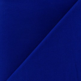 Tissu toile de coton uni Bleu CANEVAS Roy x 10cm