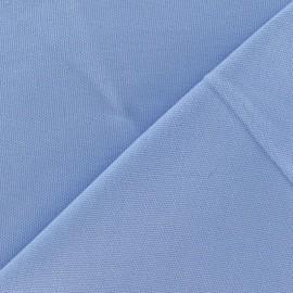 Tissu toile de coton uni Bleu Roy x 10cm