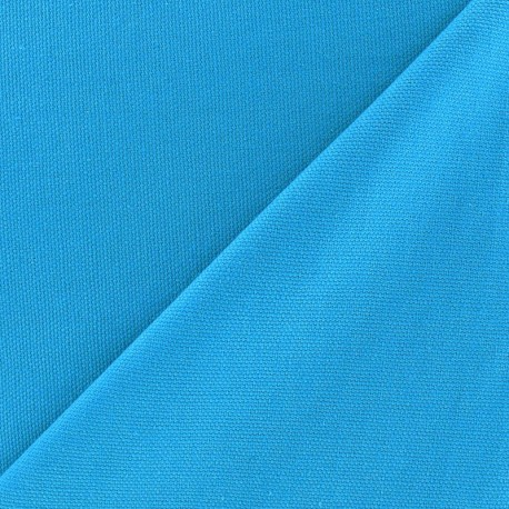 Cotton Canvas Fabric - CANAVAS Turquoise x 10cm