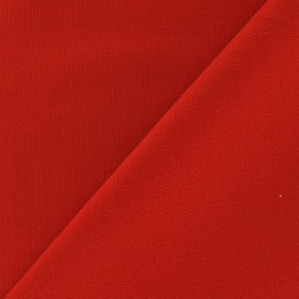 Cotton Canvas Fabric - CANAVAS Bright Red x 10cm