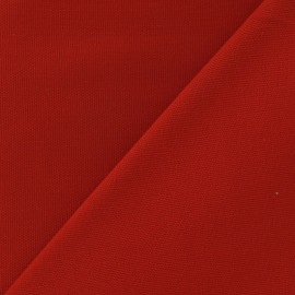Cotton Canvas Fabric - CANAVAS Red x 10cm