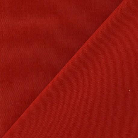 Cotton Canvas Fabric - CANAVAS Red x 10cm
