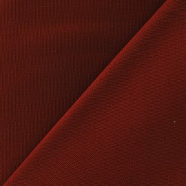 Cotton Canvas Fabric - CANAVAS Carmine Red x 10cm