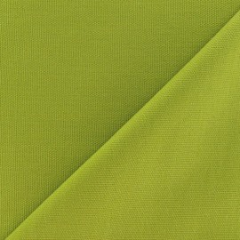 ♥ Coupon 80 cm X 140 cm ♥ Cotton Canvas Fabric - CANAVAS Lime Green