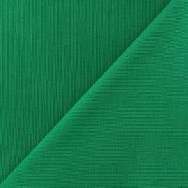 Tissu toile de coton uni CANEVAS Vert Pomme x 10cm
