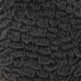 Fourrure fantaisie mungo gris x 10cm