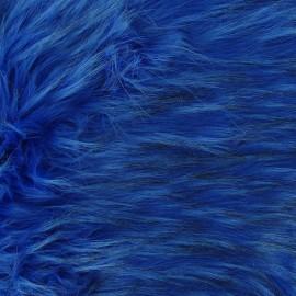 Fourrure Cheyenne bleu x 10cm