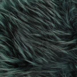 Fourrure Cheyenne vert x 10cm