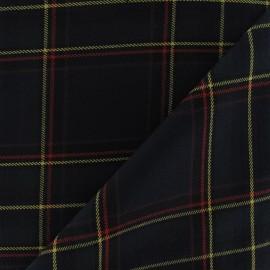Tissu tartan écossais Rouge petits carreaux  x10cm