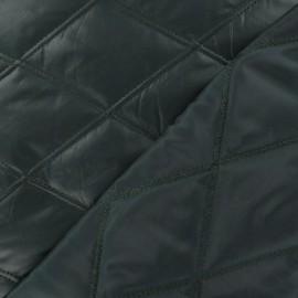 ♥ Coupon 170 cm X 110 cm ♥  Tissu doublure matelassé recto / verso vert