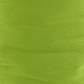 Satiny Lycra Gabardine Fabric - Lime x 10cm