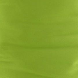 Tissu Gabardine Lycra satiné Anis x 10cm
