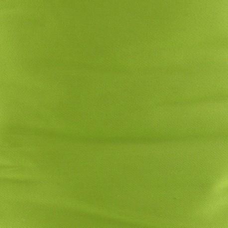 Tissu Gabardine Lycra Anis x 10cm