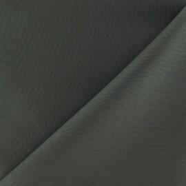 Tissu Gabardine Lycra mat Vert de gris x 10cm