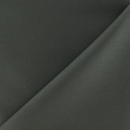 Mat Lycra Gabardine Fabric - Verdigris x 10cm