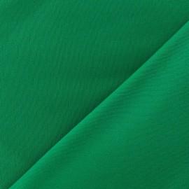 ♥ Coupon tissu 10 cm X 150 cm ♥ Gabardine Lycra mat Vert prairie