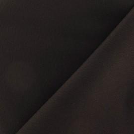 Tissu Gabardine Lycra mat Noir x 10cm