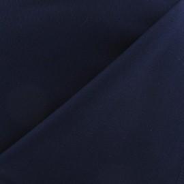 Mat Lycra Gabardine Fabric - Navy x 10cm
