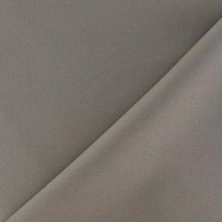 Tissu Gabardine Lycra mat Marine x 10cm