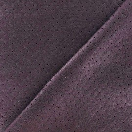 ♥ Coupon 120 cm X 140 cm ♥ Clara punched flexible imitation leather - parma