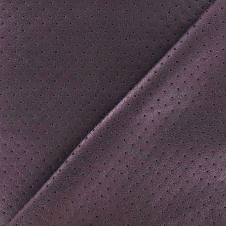 Clara punched flexible imitation leather - parma