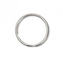 Broken ring 30 mm - nickel-plated