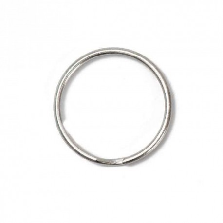 Broken ring 30 mm - nickel-plated