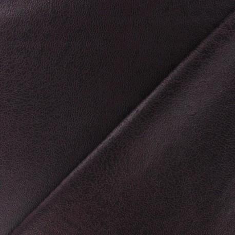 Clara flexible imitation leather - garnet x 10cm