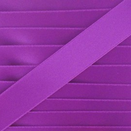 Satin Ribbon, double-sided - dark purple