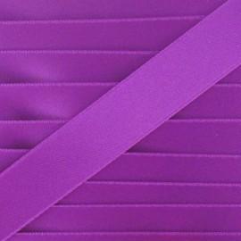 Satin Ribbon, double-sided - dark purple